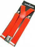 Red Braces 2 cm wide